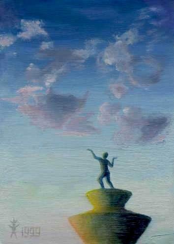 Букет из облаков, 1999, к., м., 15х10